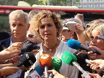 """Montserrat: """"Desde el PP no vamos a tolerar ninguna ofensa hacia el rey, hacia las víctimas y hacia las fuerzas de seguridad"""""""