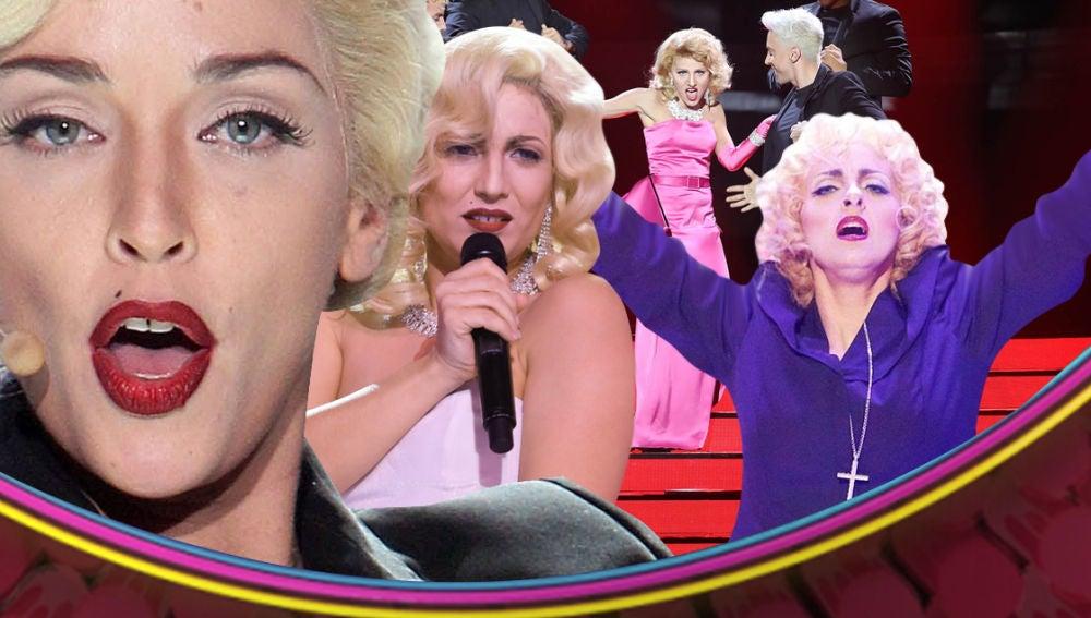 Celebra el 60 cumpleaños de Madonna con las actuaciones de 'Tu cara me suena'