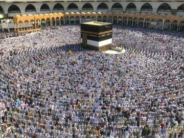 Peregrinos en La Meca (16-08-2018)