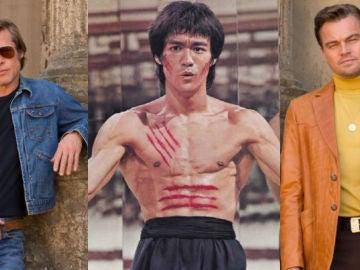 Brad Pitt, Bruce Lee y Leo DiCaprio