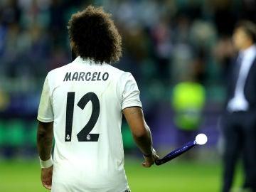 Marcelo jugando en la final
