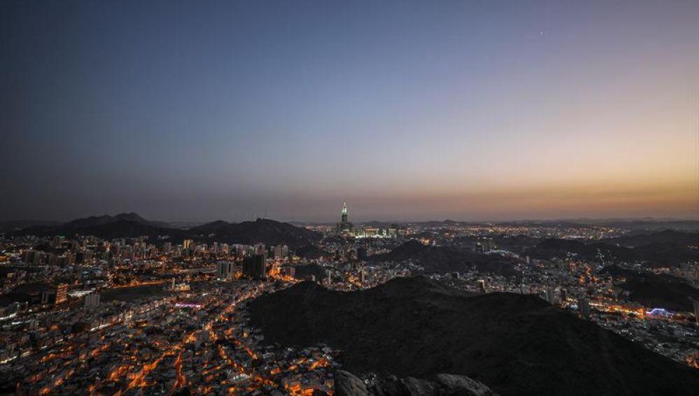 Imagen de archivo de la peregrinación a la Meca