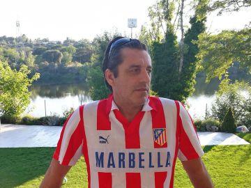 Paulo Futre, exjugador del Atlético del Madrid