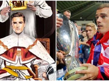 Griezmann, 'rey del fútbol'