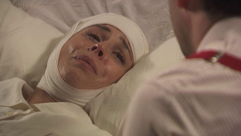 Adela, entre lágrimas sobre su agresor: ¿Crees que volverá?