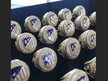 Griezmann regala estos anillos a sus compañeros al estilo de la NBA