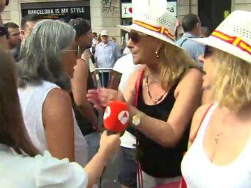 """Momentos de tensión entre los CDR y los partidarios de la unidad de España: """"Teníais que venir con el lacito y metiendo mierda"""""""