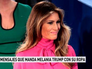 Estos son los mensajes que transmite Melania Trump con su vestuario