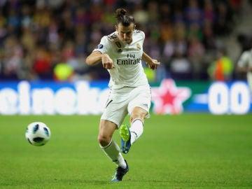 Bale, con el Real Madrid
