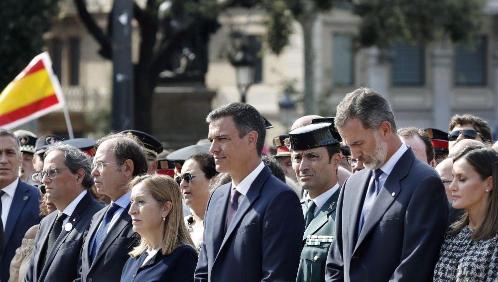 Primer aniversario de los atentados delo 17-A en Barcelona y Cambrils