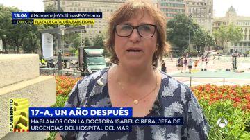 La doctora Isabel Cirera nos acerca el lado más humano del atentado yihadista en La Rambla de Barcelona