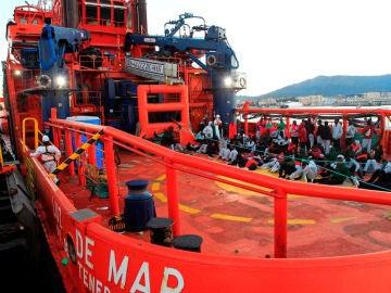 Guardamar Concepción Arenal, embarcación de Salvamento Marítimo