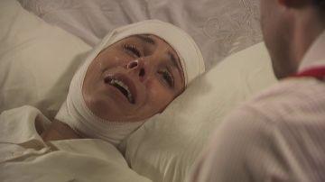 Adela, aterrorizada por la posible vuelta de Basilio