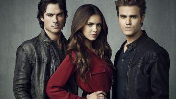 Damon, Stefan y Elena en 'Crónicas vampíricas'