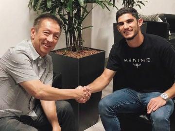 Peter Lim, con Gonçalo Guedes