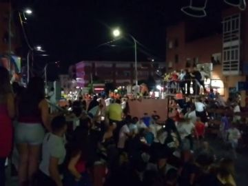Arrancan las fiestas de San Sebastián de los Reyes con la tradicional cabestrada