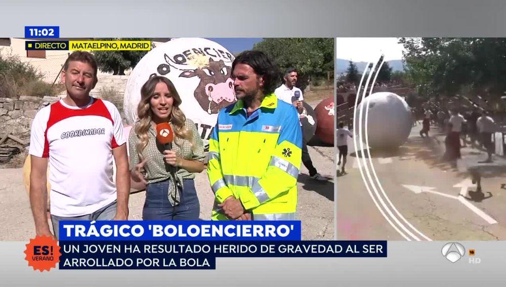 """Polémica por el 'boloencierro' de Matalpino: """"No podemos quedarnos parados, si no te mueves la bola te hace daño"""""""