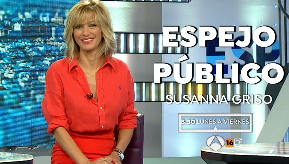 Susanna Griso en Espejo Público