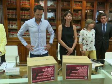 """Anna González y Alberto Contador se reúnen con el Gobierno 'PorUnaLeyJusta': """"Hasta que las cosas estén hechas yo no veo nada"""""""