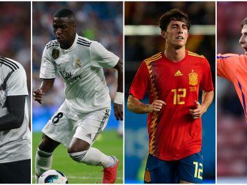 Los cuatro fichajes del Real Madrid 2018-19