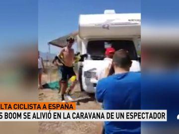"""Lars Boom, tras defecar en una vehículo ajeno durante la Vuelta: """"Gracias a la gente de la caravana"""""""