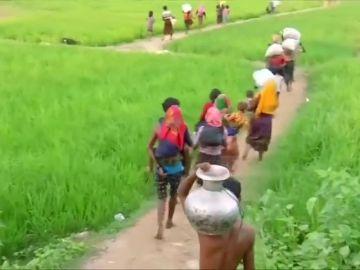 """Expertos de ONU piden juzgar a militares birmanos por """"genocidio"""" de rohinyás"""