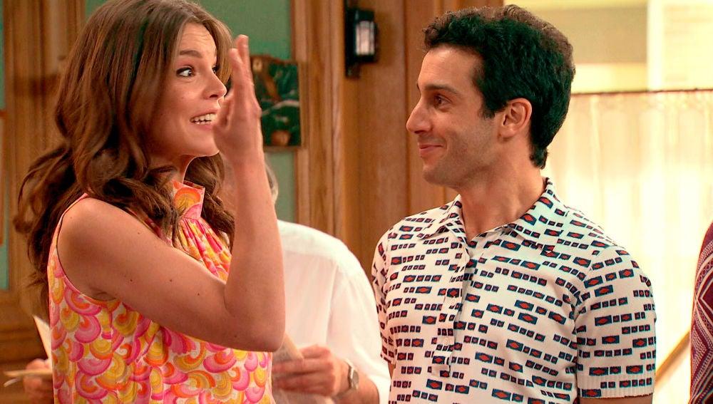 """Maria e Ignacio dan a su familia la buena noticia: """"Nos casamos"""""""