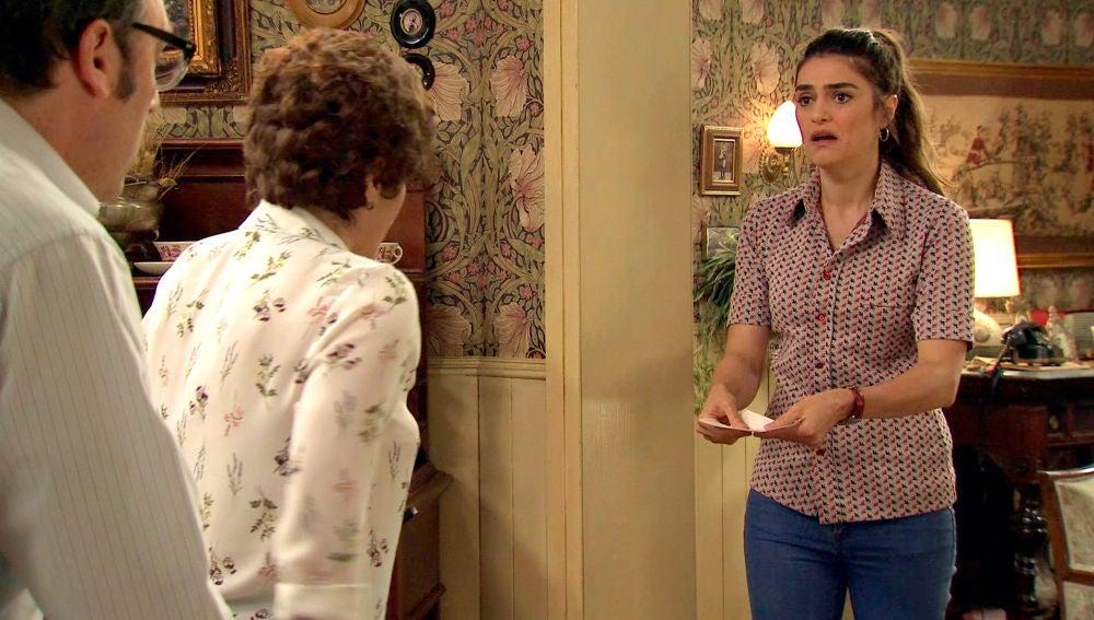 Vicky desesperada tras descubrir que su hijo se ha escapado