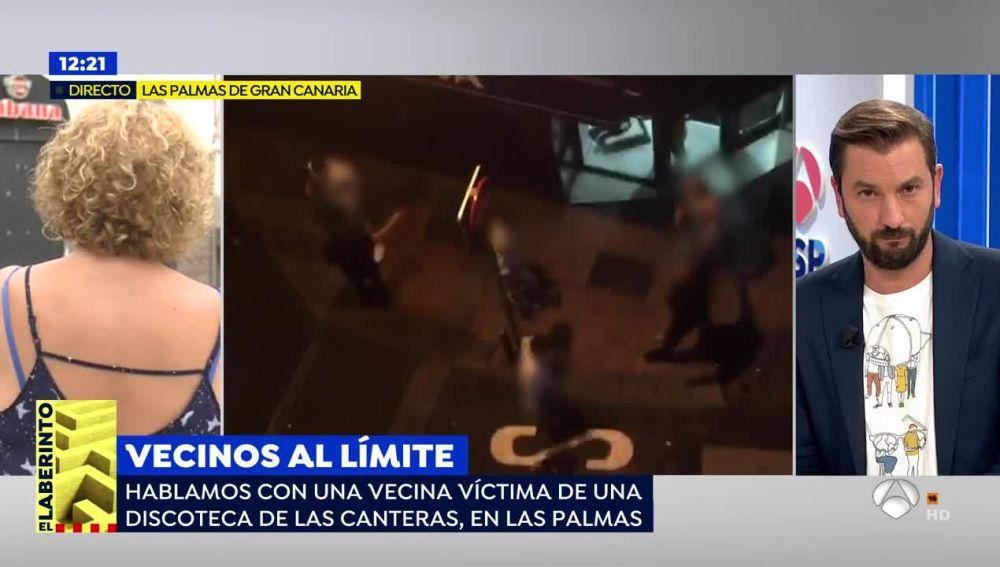 La desesperación de los vecinos de Las Canteras por las continuas peleas de una discoteca