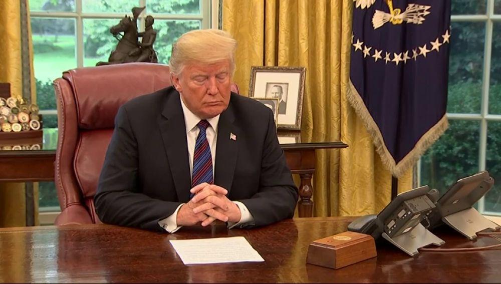 Trump anuncia un acuerdo con México para renegociar el Tratado de Libre Comercio de América del Norte