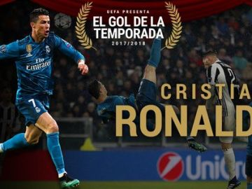 Cristiano Ronaldo gana el premio al gol de la temporada
