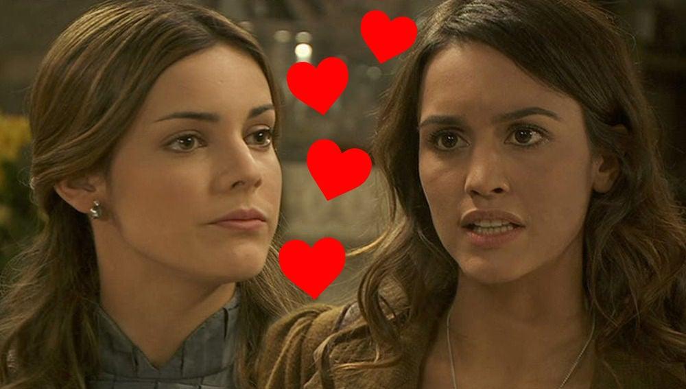 Alejandra Onieva y Megan Montaner son grandes amigas en la vida real