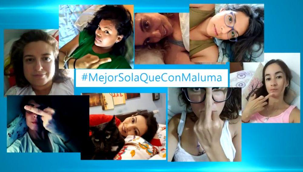 'Mejor sola que con Maluma', la campaña en redes sociales contra el cantante colombiano