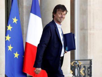 Imagen de archivo del ministro francés de la Transición Ecológica, Nicolas Hulot