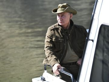 Putin se toma un pequeño descanso en Siberia