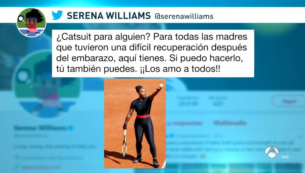 Traje Serena Williams