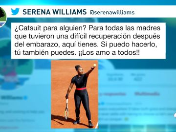 Traje Serena Williams