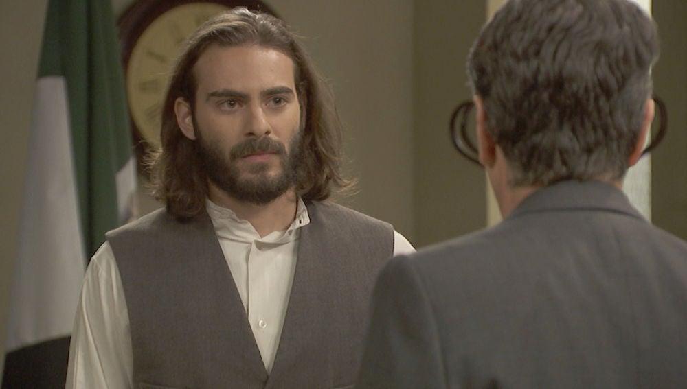 El tenso encuentro entre Isaac y Amador