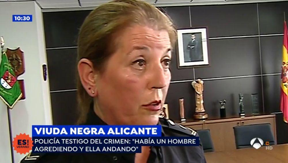 """La policía que pilló 'in fraganti' a la viuda negra y su cómplice: """"Lamento no haber podido evitar el crimen"""""""