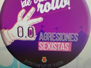 Campaña contra las agresiones sexistas en Guadix