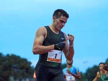 El atleta español Bruno Hortelano