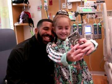 Sofía, la niña que visitó Drake, ya tiene un nuevo corazón