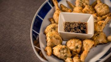 Una tempura de alcachofas pluscuamperfecta.