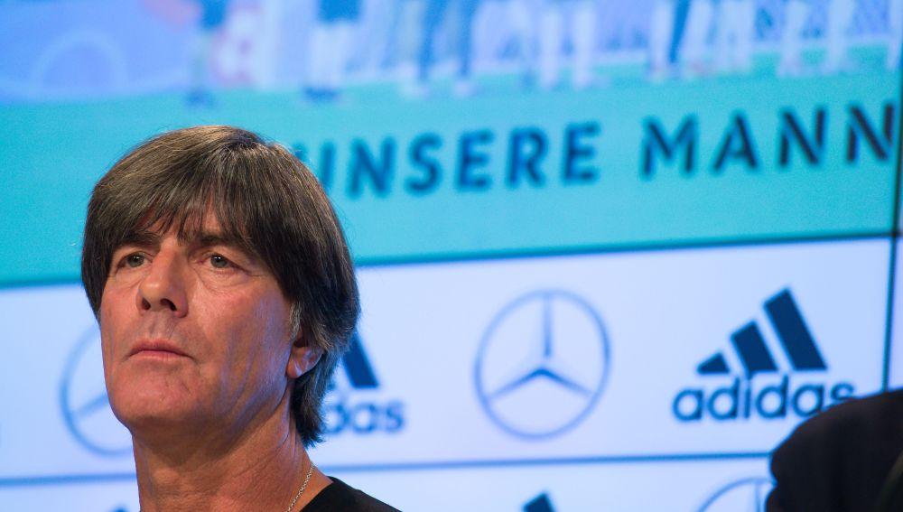 Joachim Löw en rueda de prensa
