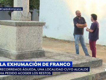 """Enfrentamiento entre los vecinos del pueblo que quiere acoger a Franco: """"No queremos que lo traigan, se liaría mucho alboroto"""""""