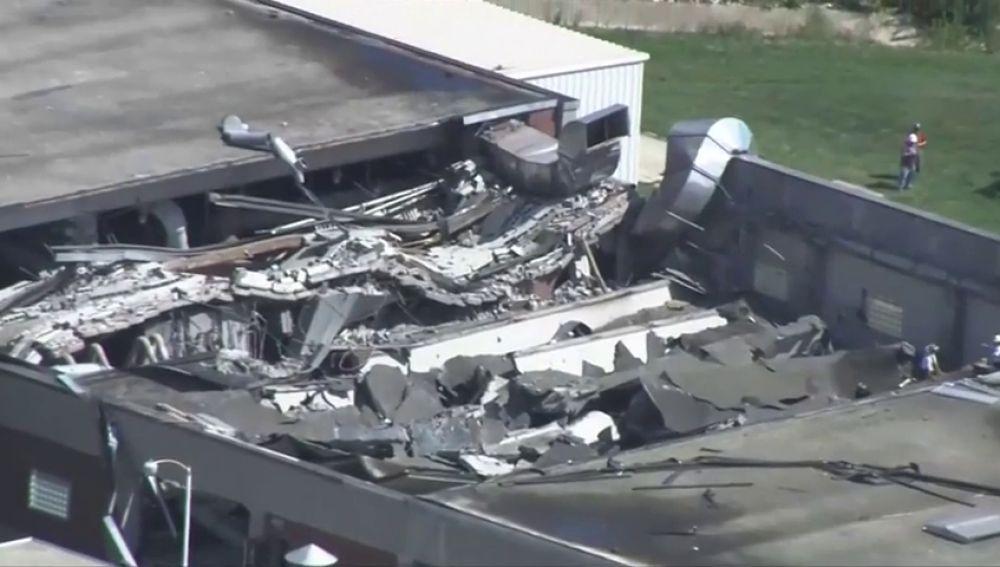 Al menos ocho personas heridas tras el derrumbe de un techo de una planta de tratamiento de agua en Chicago