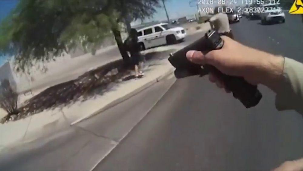 Agentes de la Policía de Las Vegas abaten a un hombre que previamente apuñaló a dos mujeres en un autobús