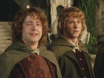 Pippin y Merry de 'El Señor de los Anillos'