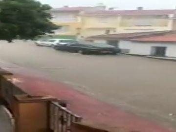 Aviso amarillo por trombas de agua en Granada