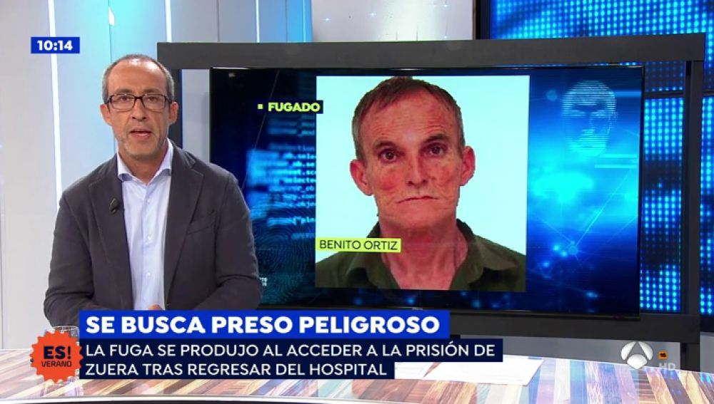 Así se escapó el peligroso preso Benito Ortiz de la prisión de Zuera: aprovechó el intercambio de custodia